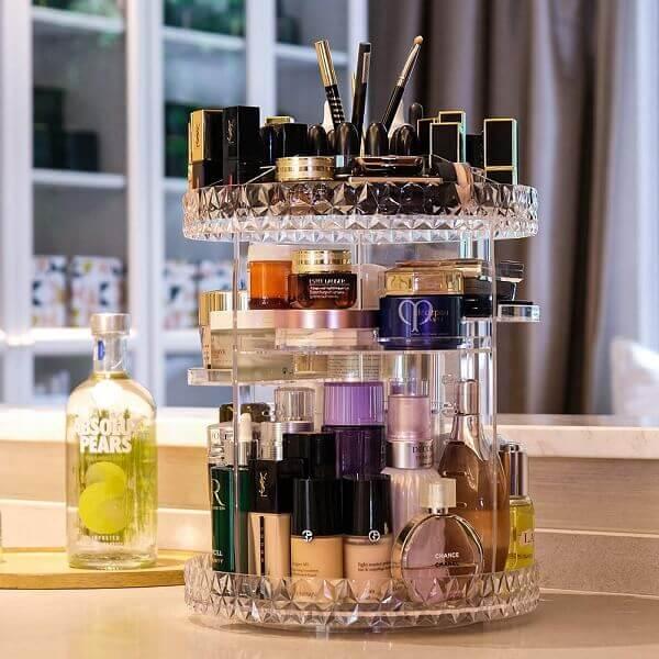 Beauty Gifts Set Rotating Makeup Organizer
